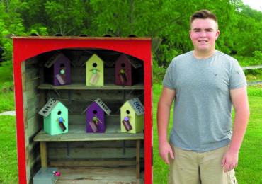 Local teen wins prestigious Terry Fox award