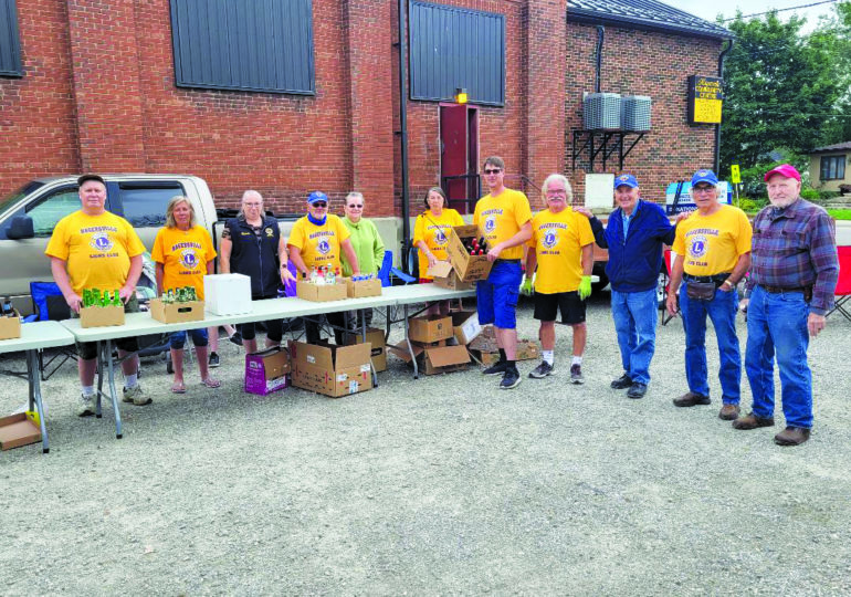 Summer can and bottle drive supports Hagersville Lions