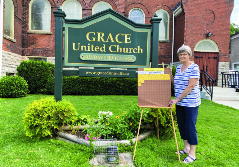 """Grace United Church in Dunnville  celebrates its 25th year helping to """"end global hunger"""""""