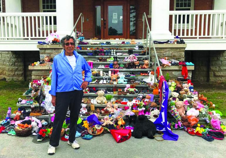 Geronimo's Dream: Mohawk Institute Residential School survivor shares his story, building memorial
