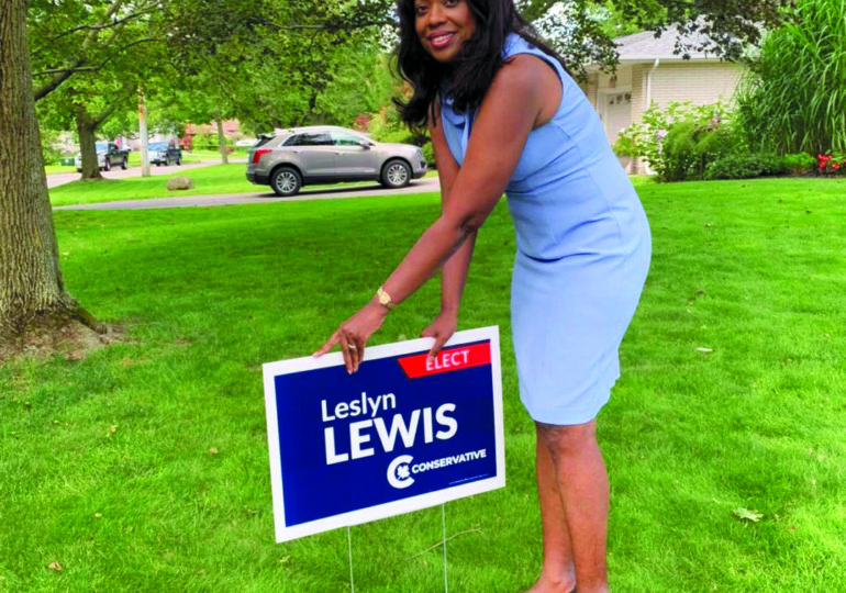 Leslyn Lewis hopes to use extensive skillset to tackle  environmental, social issues and advocate for HN