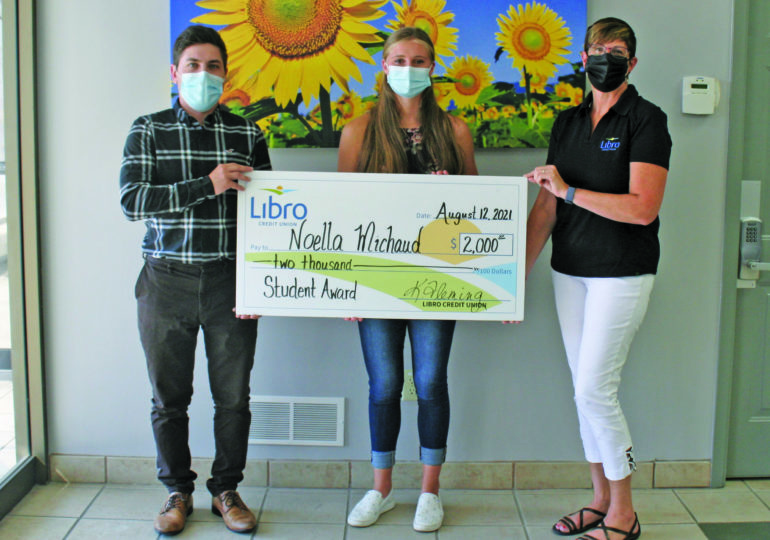 Jarvis student wins Libro scholarship