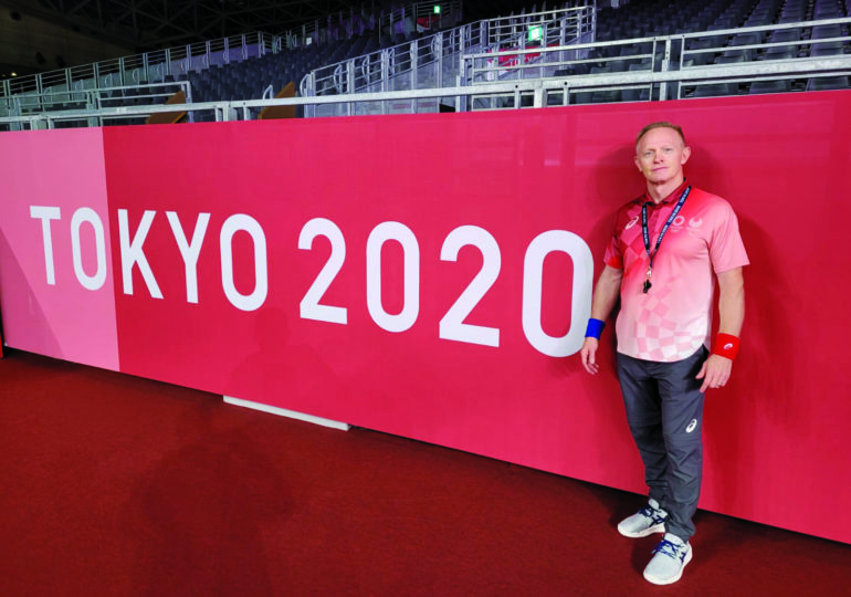 'Total elation' for Caledonia's  Ed Zinger refereeing Tokyo games