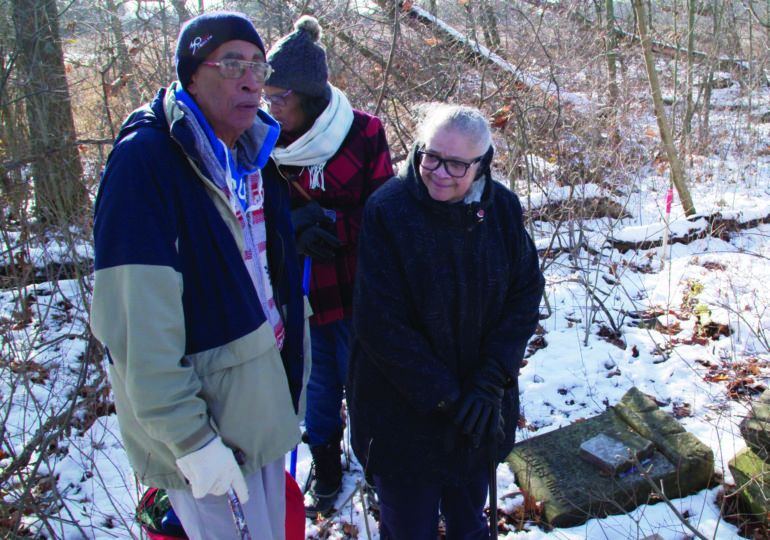 Street family descendant 'blown away' by recovery of abandoned family cemetery in Canfield
