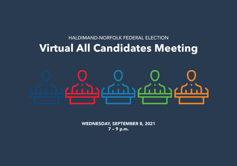 Candidate debate details announced